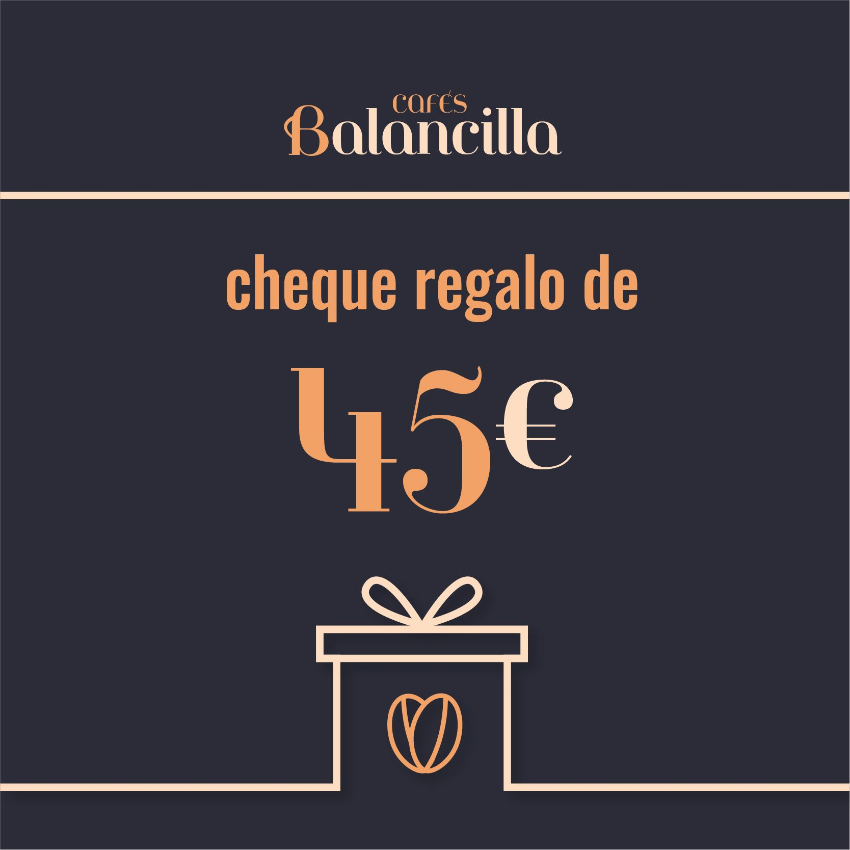 CHEQUE REGALO-Cafés Balancilla